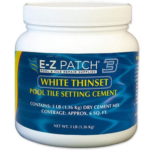 E-Z Patch 3 White Thinset Pool Tile Setting Cement - MASTER-prod1850039