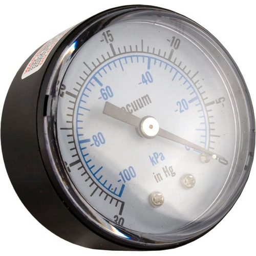 Pentair - Vacuum Gauge, Back Mount