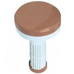 Chlorine/Bromine Floating Dispenser, Beige and White