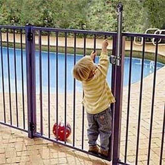 Magna Latch for Safety Fence