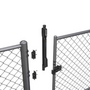 Magna Latch with Vertical Pull for Safety Fence