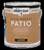 Patio Perfect Deck Paint, 5 Gallon, Smooth Cream