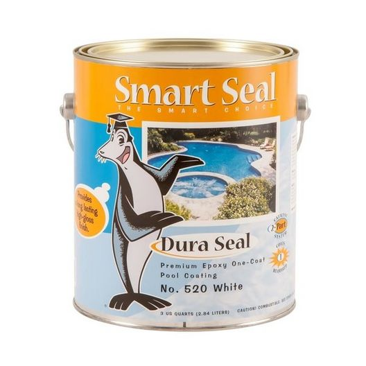 Dura Seal Epoxy Pool Paint, 1 Gallon, White