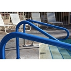 Pool Hand Rail Cover, 6 ft. Blue