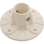 S.R. Smith - Pool Slide Large Plastic Deck Flange with Hardware - 28006