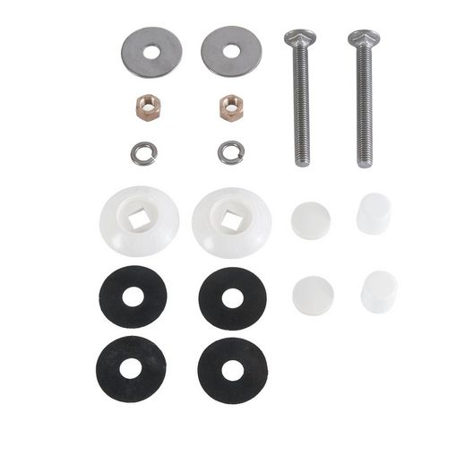 Resi Bolt Kit 1/2in. x 4.5in. Stainless Steel
