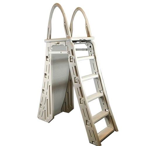 Confer Plastics - 7200 Roll-Guard A-Frame Safety Ladder