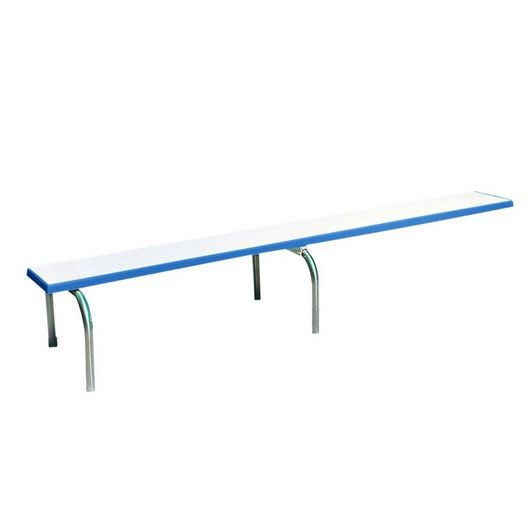 Econo U Frame 10' Stand, Polished Steel