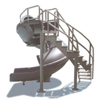 S.R. Smith - Complete Pool Slide with Staircase - 28379