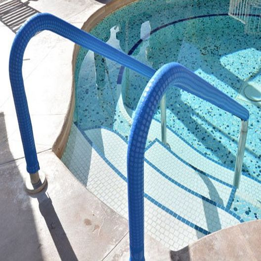 Pool Rail Cover, 10 ft. Blue