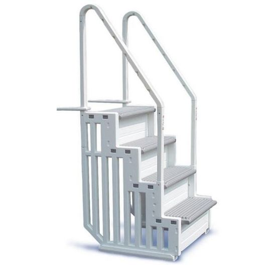 Confer Plastics  Easy Access Above-Ground Pool Steps