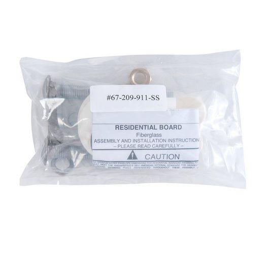 Fibre-Dive 10' Replacement Board, Radiant White - 66-209-270S2-1