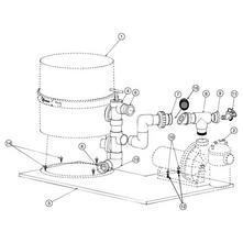 Pentair Pinnacle Pump to Filter Base Kit #181600