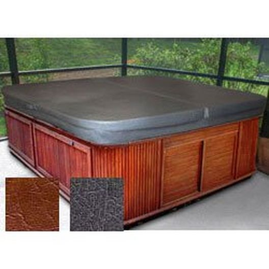"79"" x 86.5"" Hot Tub Cover, Brown"