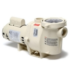 WhisperFlo 011774 Up-Rated Standard Efficiency 2HP Pool Pump, 115V/230V