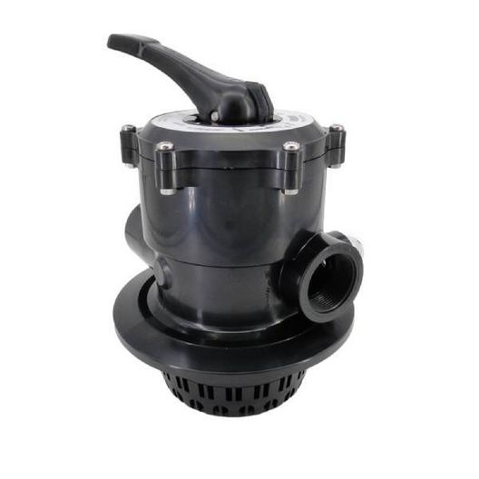 """Pentair - 261186 Top Mount Multiport Valve 1-1/2"""" Ports with Clamp and O-ring - 300030"""