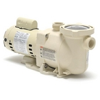 Pro Grade - SuperFlo 340040 Standard Efficiency 2HP Single Speed Pool Pump 115V/230V - Premium Warranty