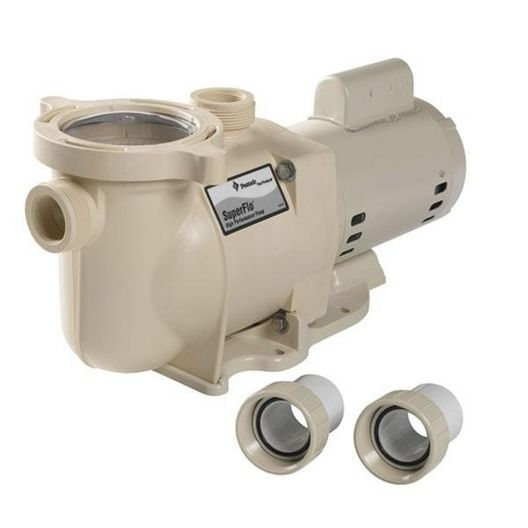 SuperFlo 340040 Standard Efficiency 2HP Single Speed Pool Pump 115V/230V
