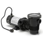 OptiFlo Horizontal Discharge 1-1/2HP Above Ground Pool Pump with 3' Twist-Lock Cord, 115V
