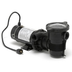 OptiFlo Vertical Discharge 1-1/2HP Above Ground Pool Pump Dual Speed Motor with 3' Standard Cord, 115V