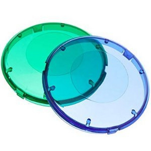 Pentair - Pool Light Color Lens Kit - Blue and Green