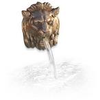Wallsprings Lion Roman Bronze