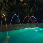 580001G MagicStream Laminar LED Water Feature, Gray Lid