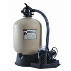 Sand Dollar SD40 Sand Filter with 1HP Dynamo Above Ground Pool Pump