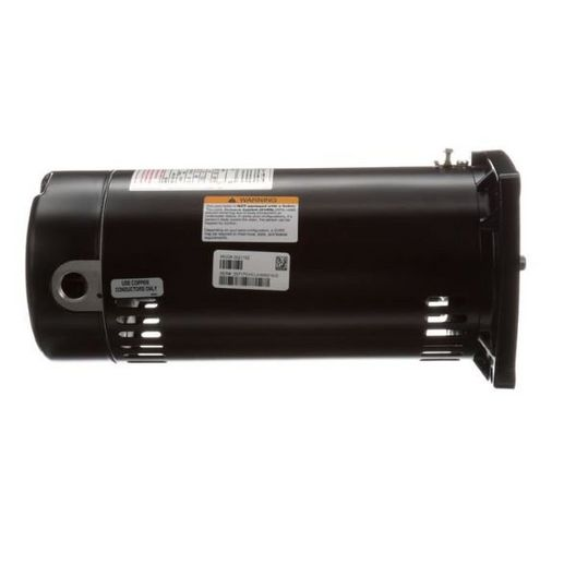 SQ1102 Square Flange 1 HP Full Rated 48Y Pool Filter Motor, 115/230V