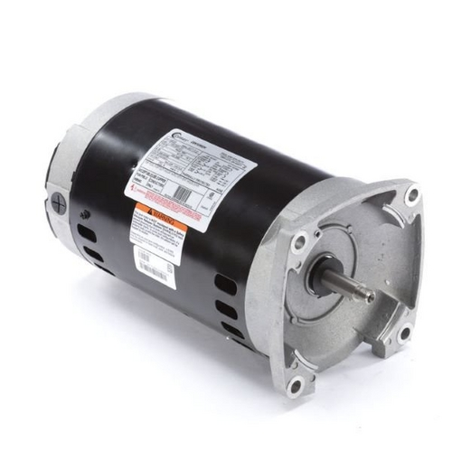 Century A.O. Smith - Centurion 56Y Square Flange 1 HP Three Phase Pool and Spa Pump Motor, 5.0-4.6/2.3A 208-230/460V