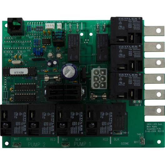 Lx-15 Alpha Rev 5.31 Circuit Board