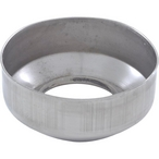 Stainless Steel Escutcheon Plate for 1.625in. OD Rail