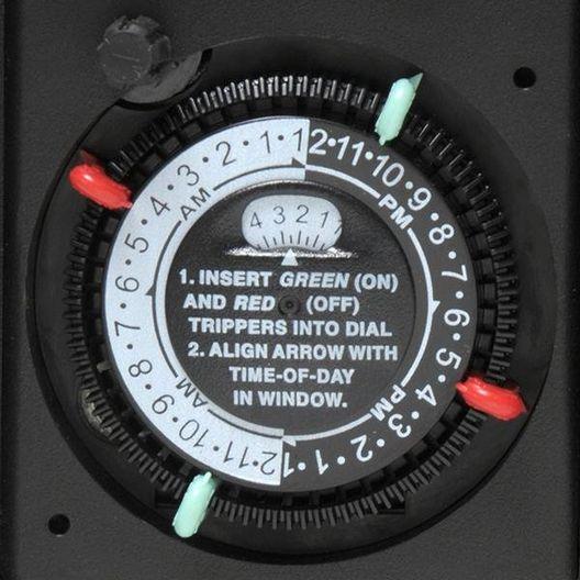 Intermatic  Intermatic Heavy-duty Outdoor Portable 24-Hour Timer Twist-Lock Plug  P1131