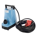 Pool Cover Pump Water Wizard 25' Cord 1200 GPH