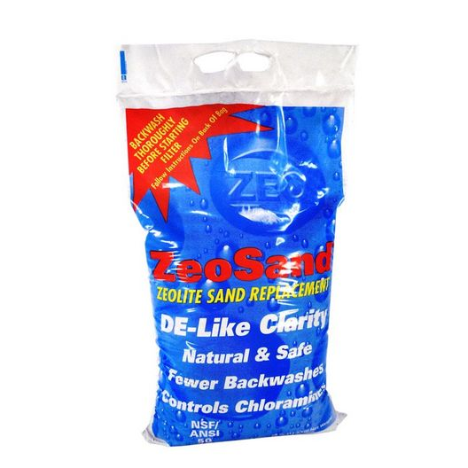 Splash  ZeoSand Natural ZeoLite Filter Media 25 lb Bag