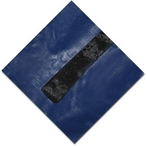 Gold 18' Round Winter Pool Cover, 15 Year Warranty, Blue