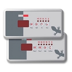 Gecko - Keypad Kit with Overlay for S-Class Spa Control Systems - 301768