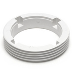 Threaded Nozzle Retainer Ring for Pool Valet, White