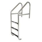 S.R Smith  23in Commercial 3-Step Ladder with Stainless Steel Treads (.065in.)