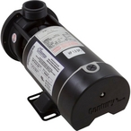 Waterway - Center Discharge 48-Frame 1HP Single-Speed Spa Pump, 115V - 301896