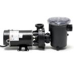 Waterway - Hi-Flo Side Discharge 48-Frame 1 HP Above Ground Pool Pump 3' Cord, 115V - 301928
