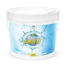 3 Inch Chlorine Tablets - 50 lb Bucket image number 1