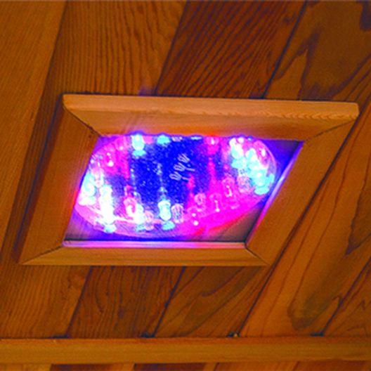 Heatwave - Buena Vista 1-2 Person Hemlock Infrared Sauna w/ 3 Ceramic Heaters - 303183