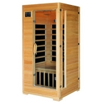 One Person Sauna with Carbon Heaters
