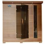 Heatwave  6-Person Cedar Sauna with Carbon Heaters