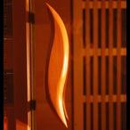 Heatwave  3-Person Cedar Corner Sauna with Carbon Heaters