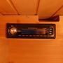 4-Person Cedar Corner Sauna with Carbon Heaters