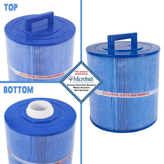 Filter Cartridge for Master Spas Legacy, Freedom (Antimicrobial)
