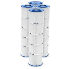 Pleatco - PCC105-PAK4 Filter Cartridge Set for Pentair Clean & Clear Plus 420 4-Pk