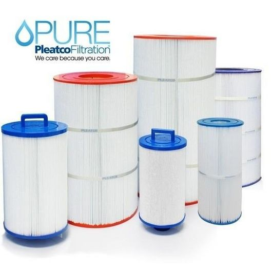Pleatco  Filter Cartridge for Waterway Front Access Skimmer Aber Hot Tubs (Antimicrobial)